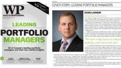 Chad Larson Top 30 Portfolio Manager